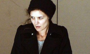 Απίστευτο! Κι όμως είναι Katie Holmes ατημέλητη και αμακιγιάριστη στη Νέα Υόρκη