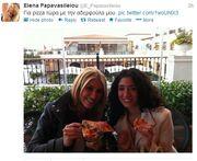 Έλενα Παπαβασιλείου: Για φαγητό παρέα με την αδερφή της