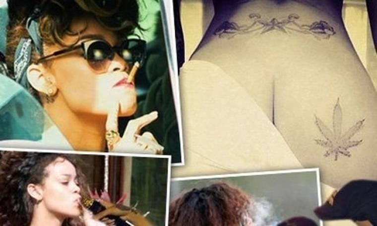 Rihanna: η εμμονή της με τη μαριχουάνα είναι ο κατήφορός της (;)