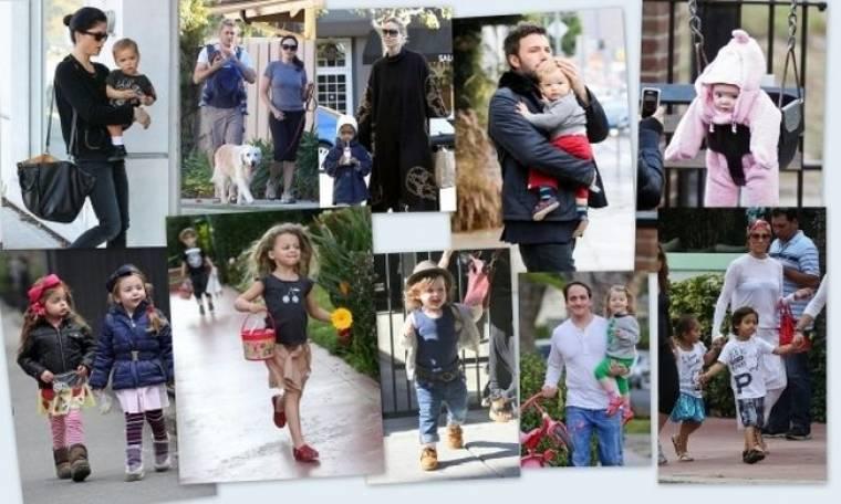 Οι 10 καλύτερες φωτογραφίες της εβδομάδας με μωρά του Χόλιγουντ!