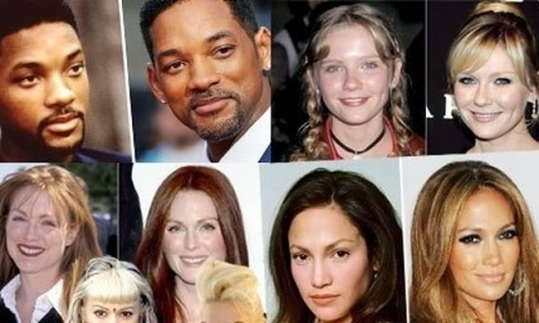 Πλανήτης Hollywood: οι διάσημοι που αντί να μεγαλώνουν μικραίνουν