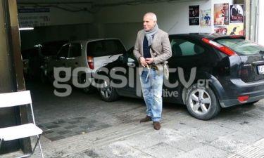 Νίκος Αναστόπουλος: Βόλτα στο Κολωνάκι