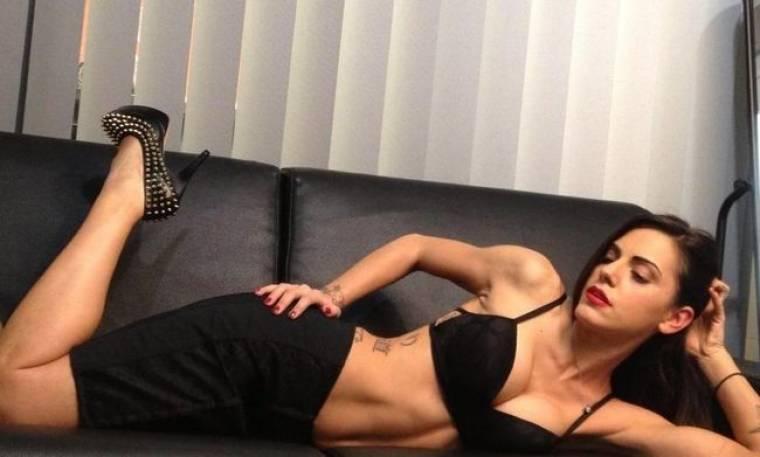 Σέξι φωτογράφηση για την Ελισάβετ Σπανού!