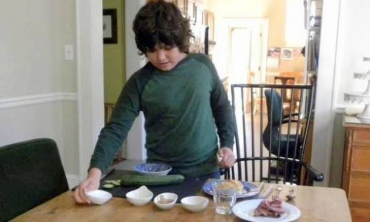 Sandwich για βραβείο από 11χρονο σεφ!
