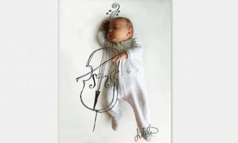 Η πιο ξεχωριστή φωτογράφηση μωρού