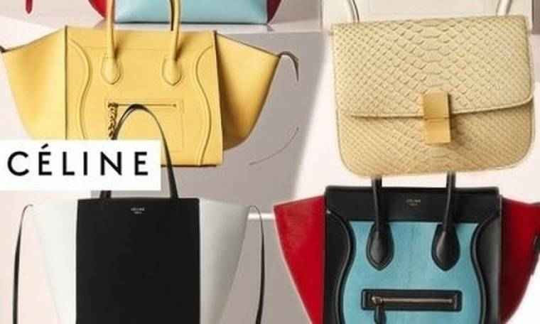 Céline: οι ανοιξιάτικες τσάντες του γαλλικού οίκου