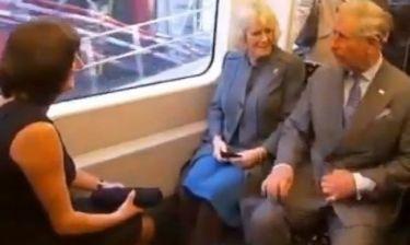 Πρίγκιπας Κάρολος-Καμίλα: «Πήραν» το μετρό!