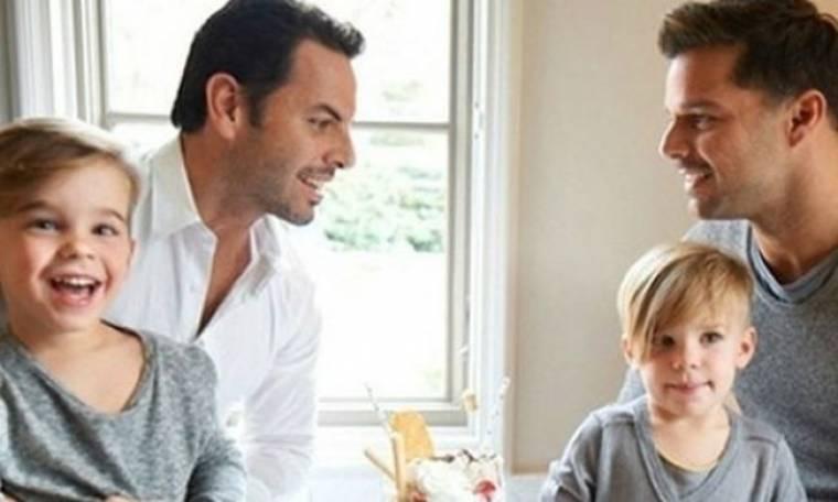 Ο Ricky Martin παντρεύτηκε τον εκλεκτό της καρδιάς του