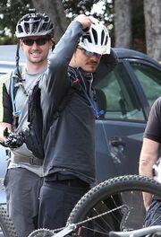 Orlando Bloom: Λάτρης της ποδηλασίας (φωτό)
