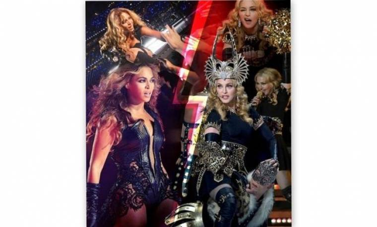 Beyonce εναντίον Madonna. Ποια ήταν τελικά η βασίλισσα του Super Bowl;