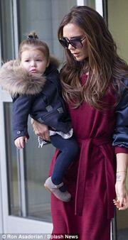 Η μικρή Harper Seven έκλεψε τις εντυπώσεις στο fashion week
