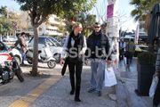 Χρήστος Αφρουδάκης: Βόλτα με την αγαπημένη του!