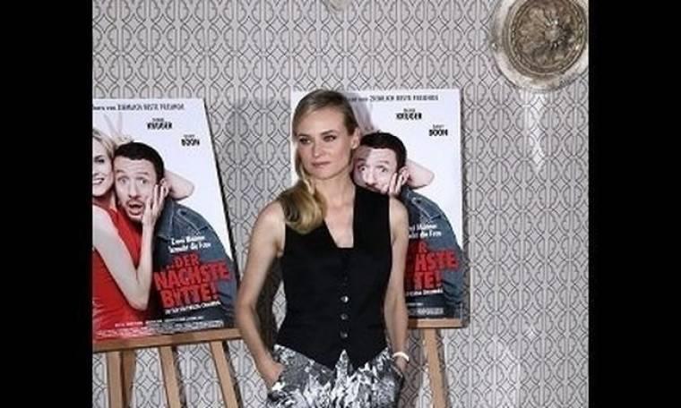 H Diane Kruger απογειώνει μοναδικά το print