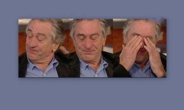 Ρόμπερτ Ντε Νίρο: Έβαλε τα κλάματα σε τηλεοπτική εκπομπή
