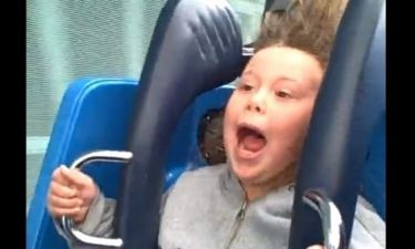 Πρώτη φορά σε Roller Coaster!