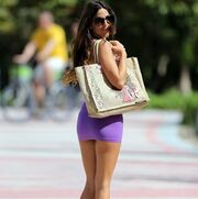 Η Claudia Romani «ζεσταίνεται» στο Miami