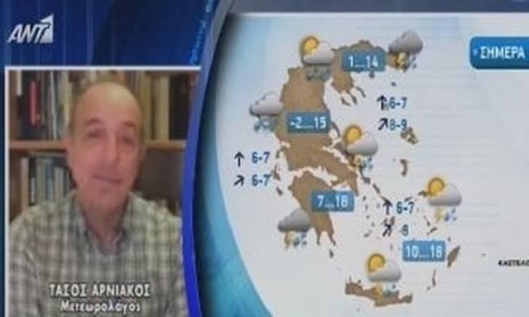 Παπαδάκης σε Αρνιακό: «Φωτιά στα κατακόκκινα»