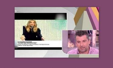 Eurovision 2013: Άγριο κράξιμο του Λιάγκα στην Ηλιάδη: «Είναι τουρκομπαρόκ άθλιο, ντροπιαστικό, εξευτελιστικό το τραγούδι της»