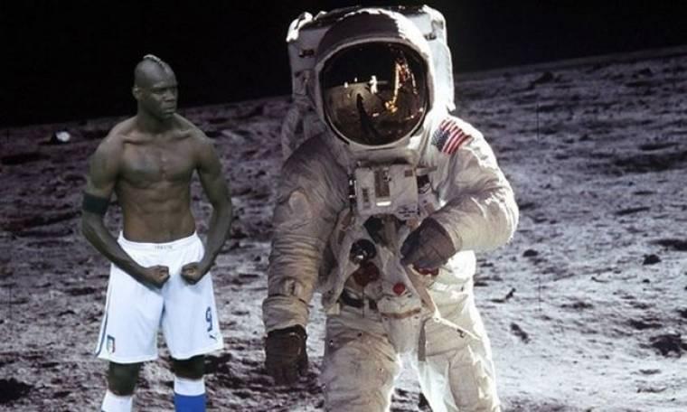 Ο Μπαλοτέλι και οι… αστροναύτες!