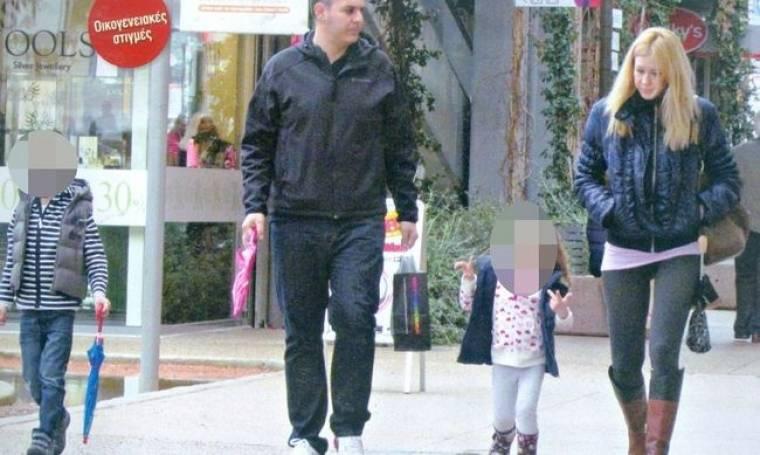 Γιώργος Καραμέρος: Βόλτα με την οικογένεια του!