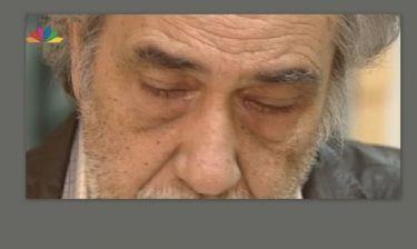 Ο Κώστας Αρζόγλου μιλά στην κάμερα και βουρκώνει: «Ας μου πάρουν το σπίτι θα κοιμηθώ στο παγκάκι»