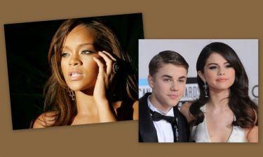 Η Rihanna αιτία χωρισμού για Bieber και Gomez