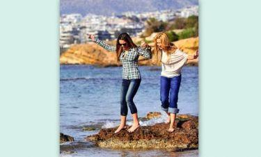 Παπαβασιλείου-Πασχάλη: Ανέμελες στιγμές στην παραλία