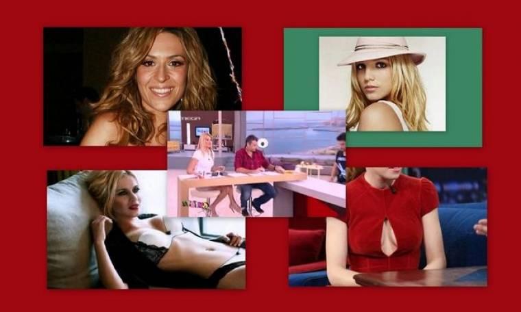 Η Νάντια Μπουλέ με εσώρουχα, η sexy εμφάνιση της Σκορδά και η φωτογραφία της Spears που κάνει το γύρο του κόσμου