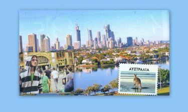 Νίκος Γκάνος: Το ταξίδι του στην Αυστραλία