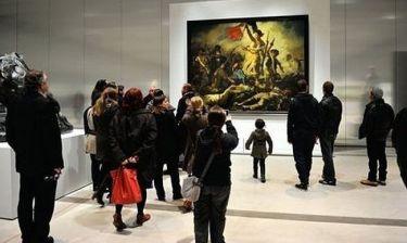 ΣΟΚ: Μουτζούρωσαν πίνακα τον Ντελακρουά!