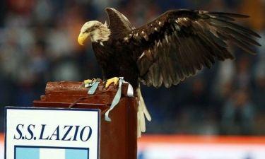 Ο αετός της Λάτσιο κλέβει την παράσταση