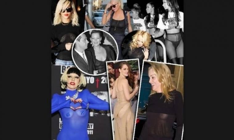 Πλανήτης Hollywood: όταν οι διάσημες κυρίες κυκλοφορούν γυμνές