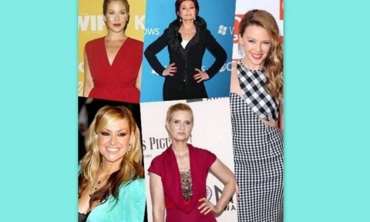 Γυναίκες για βραβείο: Ποιες celebrities αντιμετώπισαν τον καρκίνο με τόλμη και τελικά τον νίκησαν;