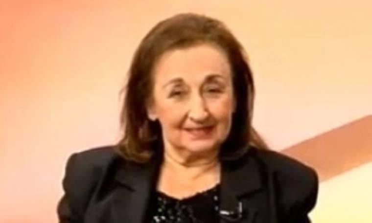 «Έφυγε» η ηθοποιός Πέπη Μεταλλείδου
