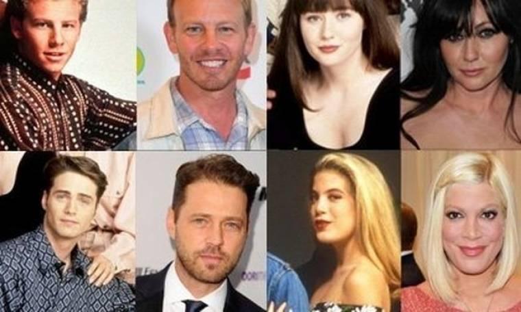 Τότε και τώρα: Δείτε όλους τους πρωταγωνιστές τoυ θρυλικού Beverly Hills (photos)