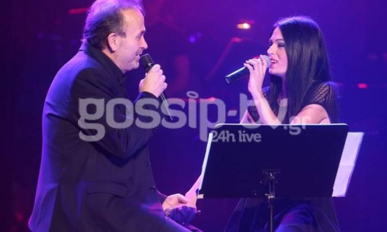 Η συγκίνηση του Σταμάτη Γονίδη που τραγούδησε για πρώτη φορά με την κόρη του Στεφανία
