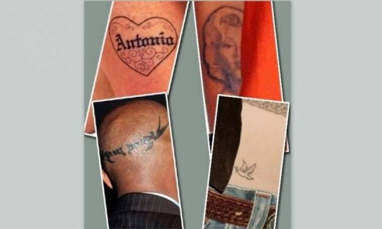 Tα πιο χαρακτηριστικά tattoos διασήμων