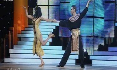 Λάουρα Νάργιες a la Κλεοπάτρα στον ημιτελικό του «Dancing with the stars»
