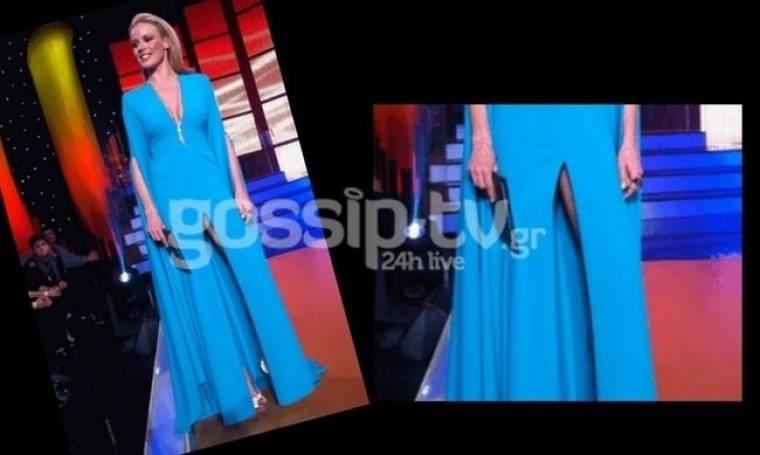 Φωτό: Ζέτα Μακρυπούλια: Το σκίσιμο στο φόρεμα και ο εσωτερικός «κόσμος» της! (Nassos blog)