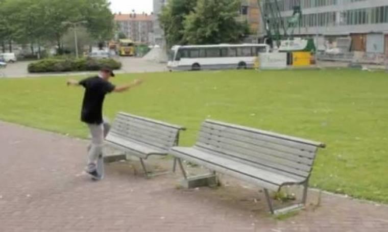 ΑΠΙΣΤΕΥΤΟ VIDEO: Δείτε προσεκτικά τι θα συμβεί στο λεωφορείο!