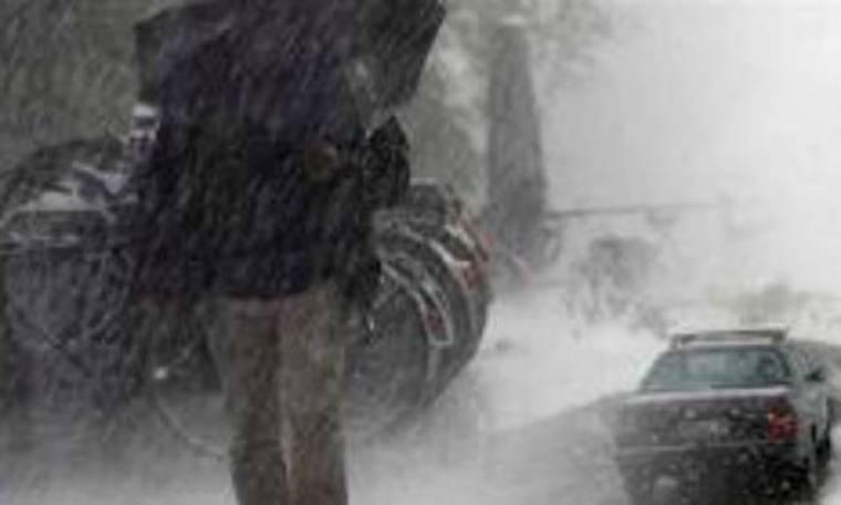 Επιδείνωση του καιρού με καταιγίδες και χιόνια