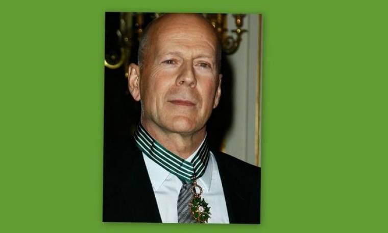 Τίμησαν τον Bruce Willis