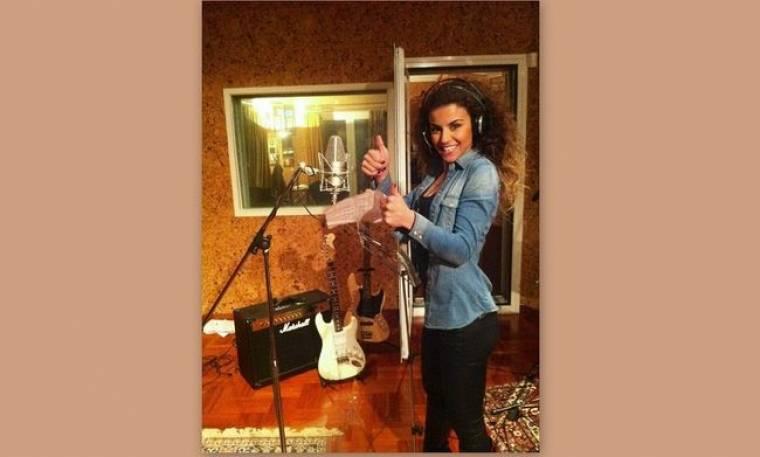 Ειρήνη Παπαδοπούλου: Ετοιμάζει το πρώτο της τραγούδι