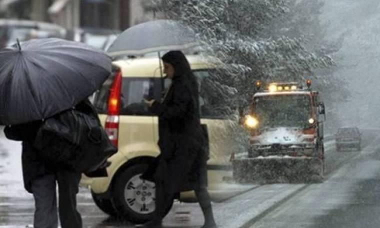 Επιδείνωση του καιρού με χιόνια και στην Αττική