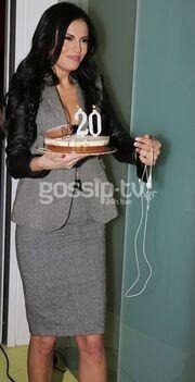Στα γενέθλια της Άννας Διαμαντοπούλου