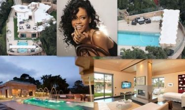 Rihanna: Το νέο της παλάτι της κόστισε 12.000.000 δολάρια (φωτό)