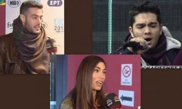 Eurovision 2013: Άγχος και τελική πρόβα για τους υποψήφιους του Ελληνικού Τελικού