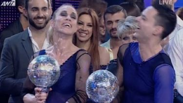 Η Ντορέττα Παπαδημητρίου η μεγάλη νικήτρια του «Dancing with the stars 3»