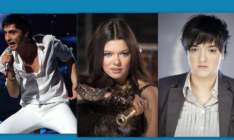 Eurovision 2013: Dima Bilan-Marija Serifovic-Ruslana: Επίσκεψη στο Μουσείο της Ακρόπολης!