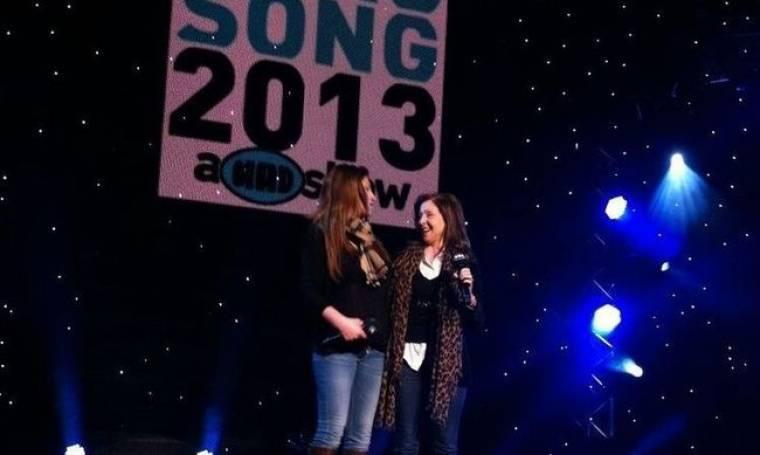 Eurovision 2013: Η πρόβα της Παπαρίζου με την Λέανδρος!